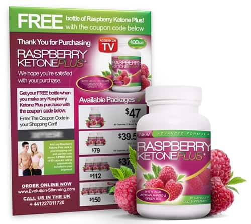 Raspberry Ketone Free Bottle