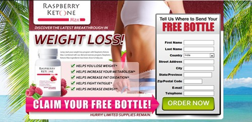 Raspberry Ketones Max Free Bottle