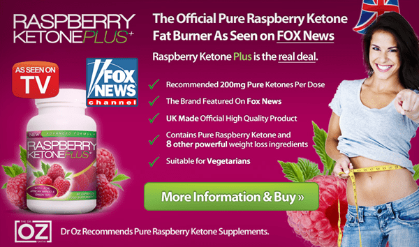 Official Pure Raspberry Ketone Plus USA