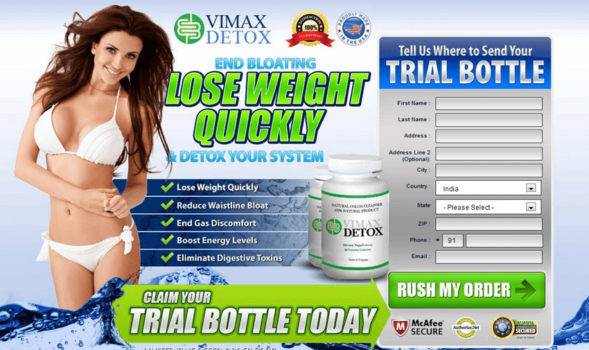 Order Vimax Detox Natural Cleanser Now