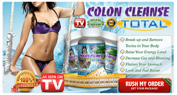 Colon Cleanse Total in UK - Banner