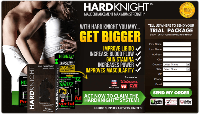 Hard Knight in Chicago - Purchase Banner