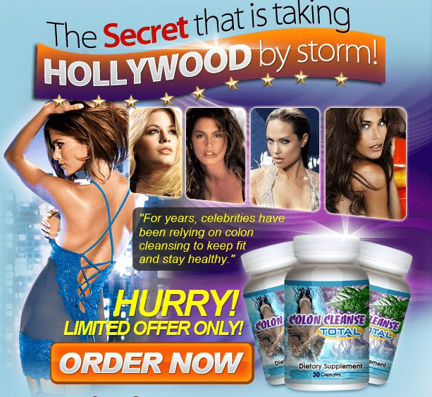 Colon Cleanse Total in UK - Colon Cleanse Diet that even Hollywood is Crazy about!!!