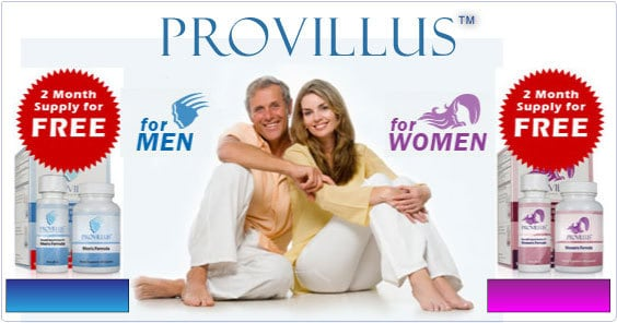 Order Provillus for 34% Discount