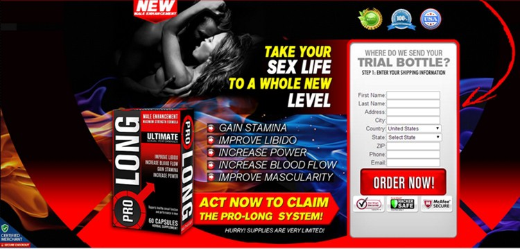 ProLong - Take your Sex Life to a Whole New Level - USA & CANADA