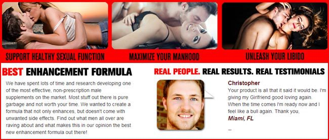 Prolong - Real Results, Real Men