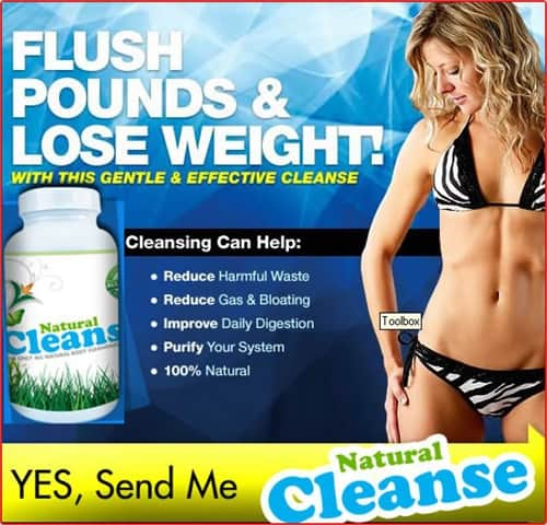 Natural CLeanse - Flush Pounds along vd Losing Weight