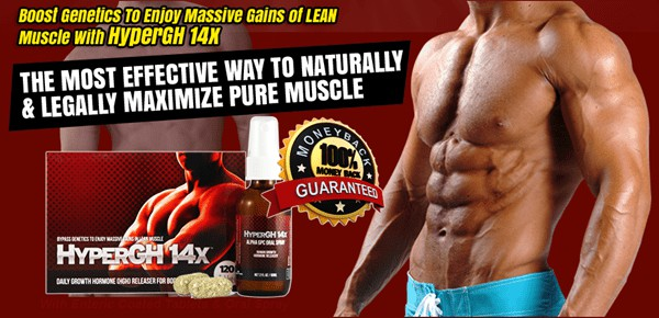 HyperGh 14x - Legally Maximize Pure and Natural Muscles- USA n Canada