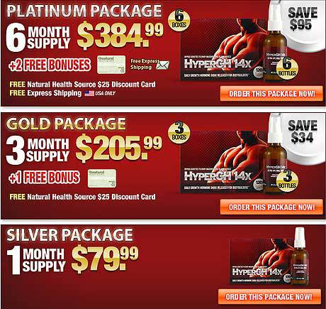 HyperGh 14x Australia - Top 3 Offers for Customers World-wide, Big Savings