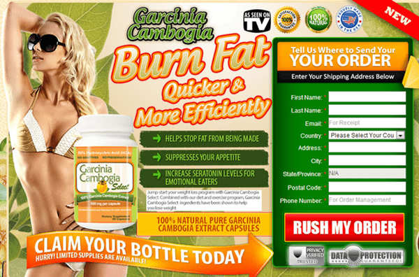 Garcinia Cambogia Select - Official Purchase Banner