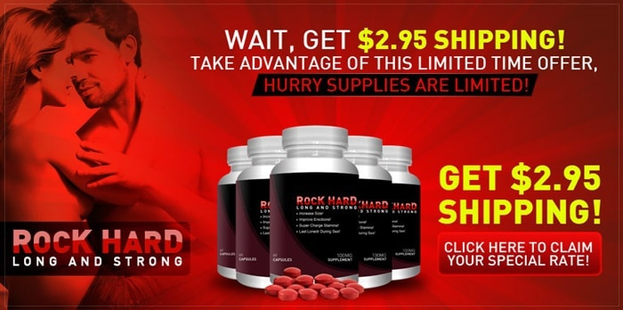 Rock HArd - USD 2.95 Shipping - Free Trial - Limited Offer Advantage