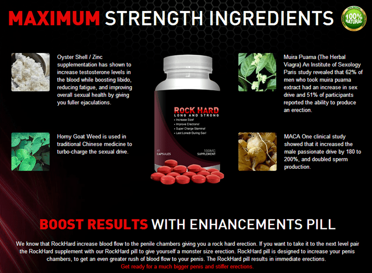 Maximum Strngth Ingredients and Boost Results