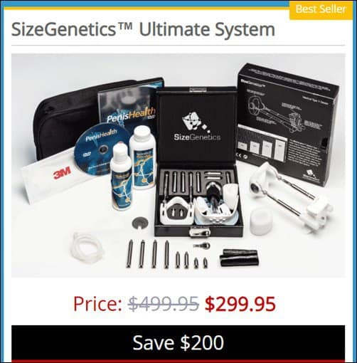 sizegenetics in australia ultimate system