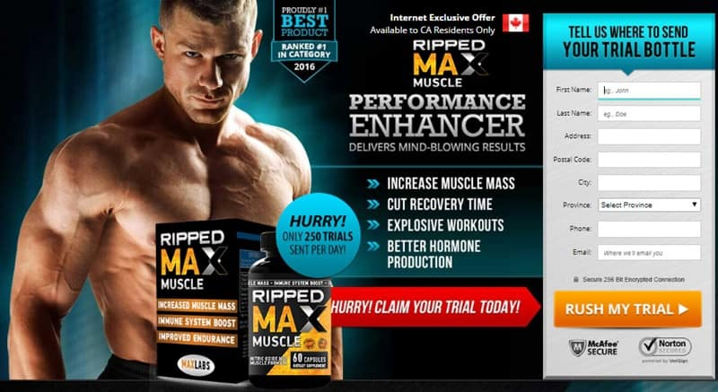 Max Muscle xTreme - Order Free Trial now