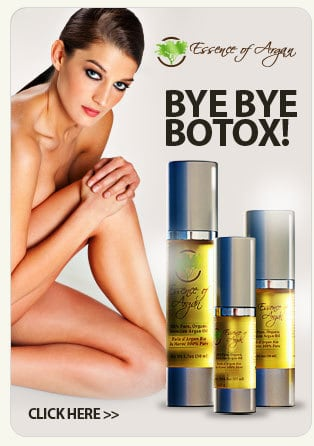 essence of argan - bye to botox - australia and canada