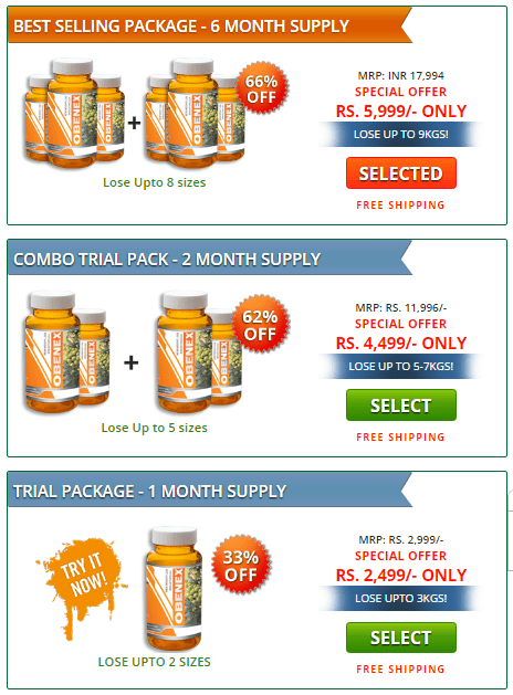 select among packages - india