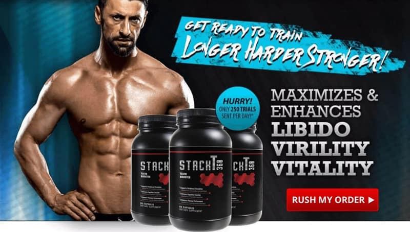 stack t360 - try for libido, virility, vitality