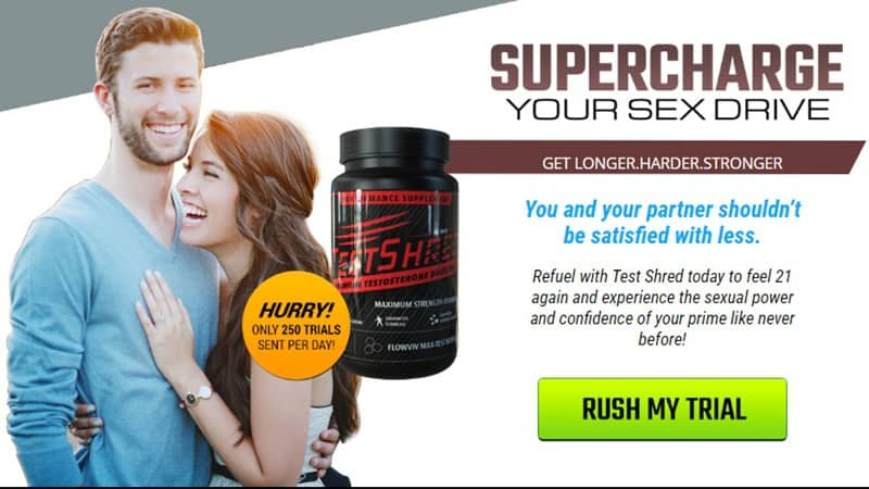 test shred au n - supercharge your sex drive