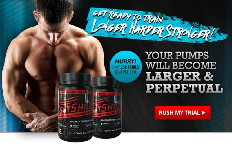 test shred - try for larger harder stronger muscles