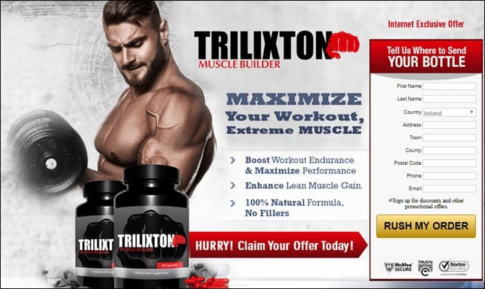 trilixton muscle builder and supplement - au, nz, ie, ch, se