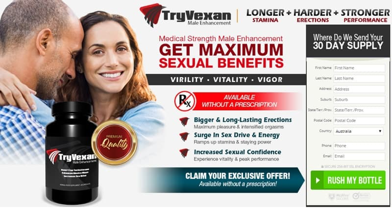 tryvexan - for max benefits in australia, nz