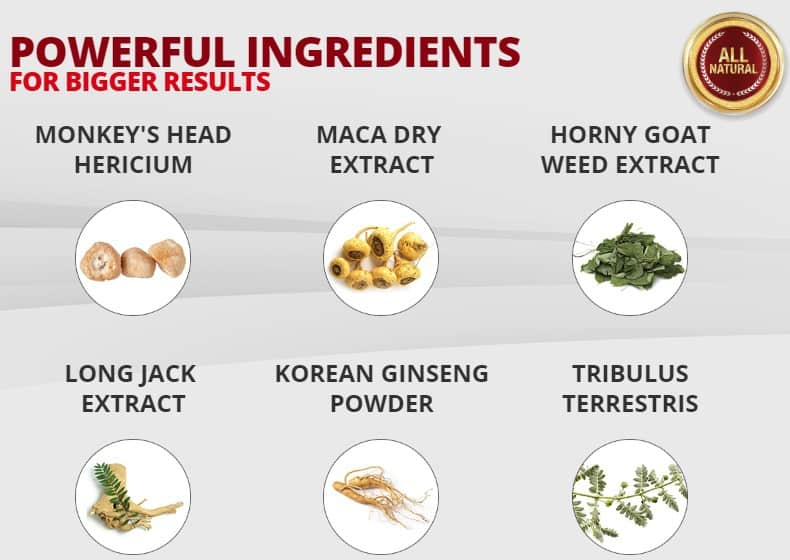 ingredients - potent and powerful