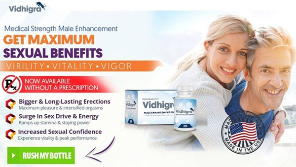 vidhigra - male enhancement for max strength energy