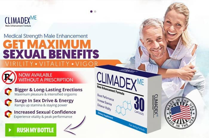 Climadex Male Enhancement - Supplement to Feel that Manliness again - Trial