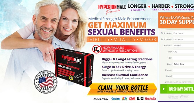 hyperion male enhancement - order form - order without prescription