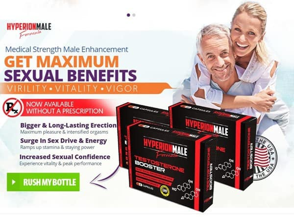 hyperion medical strength male health formula - free trial - usa canada