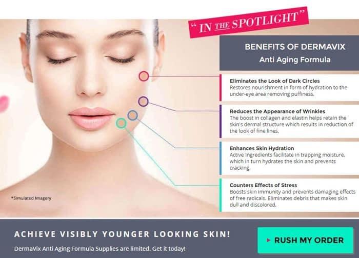 dermavix creme anti envelhecimento