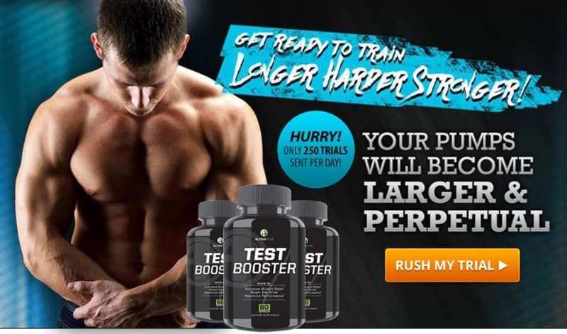 alphaplus test booster - free trial for perpetual and muscular pumps