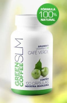 Green Coffee Slim - 120 Capsules - Brazil