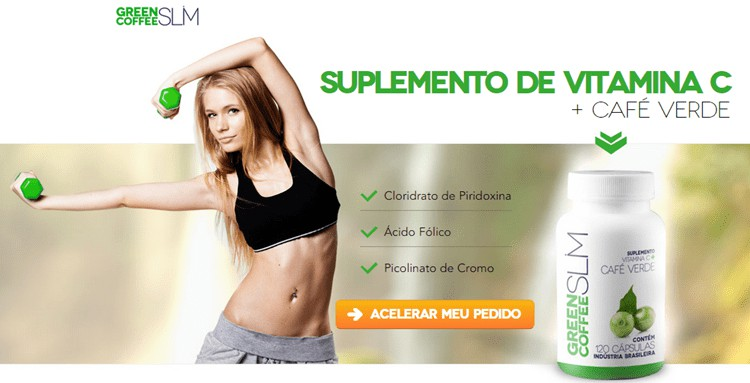 Green Coffee Slim - SUPLEMENTO DE VITAMINA C and CAFE VERDE