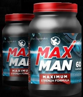 MaxMan Poder - Fórmula Maximum Strength