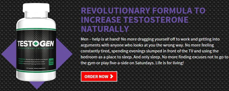 Testogen - Triple Action Advantage Formula - Buy in USA, Canada, Australia, India, UK