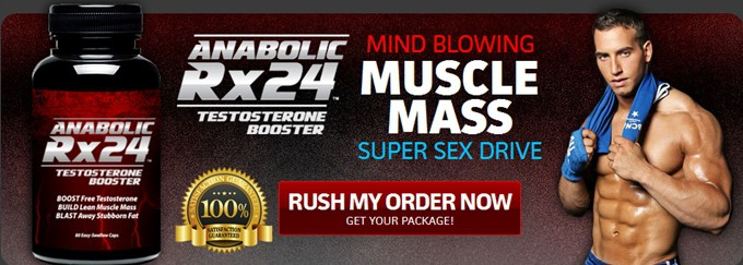 Anabolic Rx24 - Mind Blowing Muscle Booster