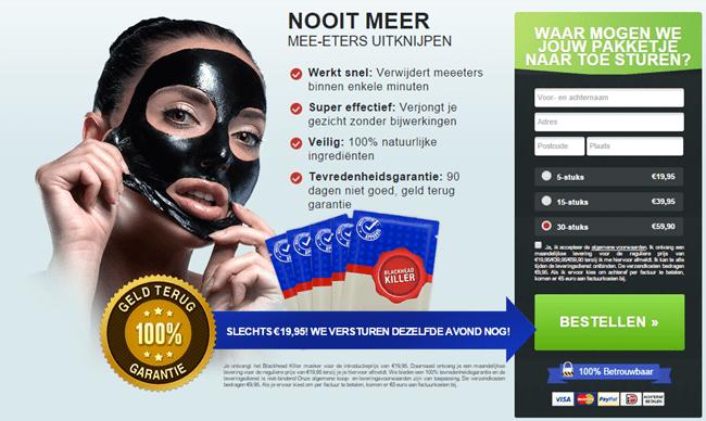 blackhead killer nederland