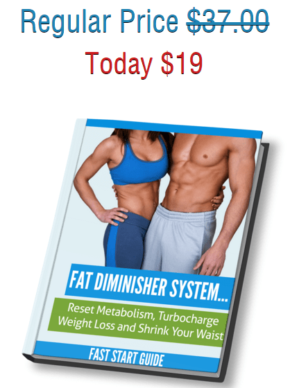 fat diminisher system - regular price vs price via shs