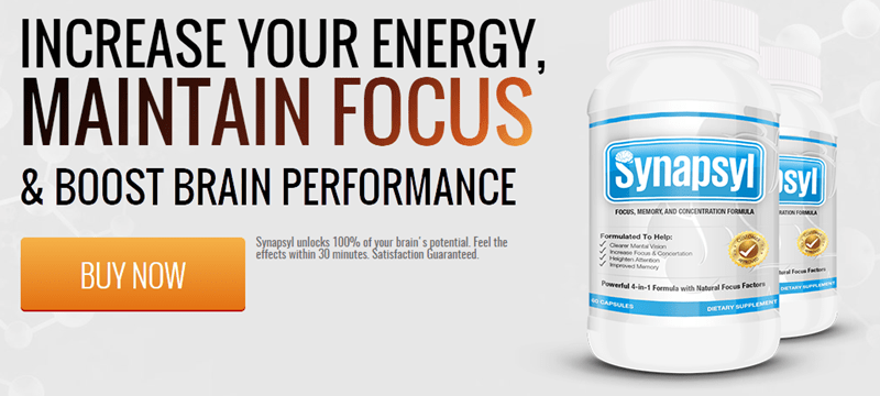Synapsyl - buy to boost mental performance
