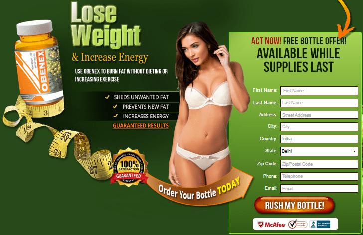 obenex - lose weight - india