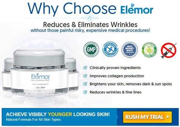 elemor cream canada - benefits, helps eliminate wrinkles - reserve trial