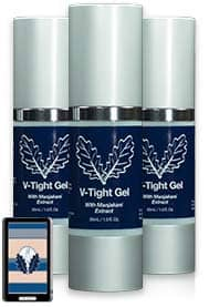 v tight gel - happy married couples - three Bottle of poduct
