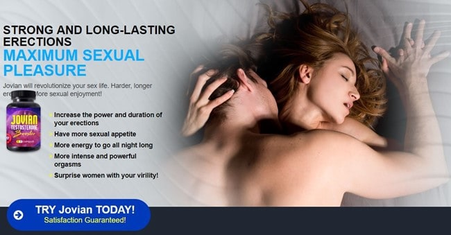 jovian testosterone booster - english landing page