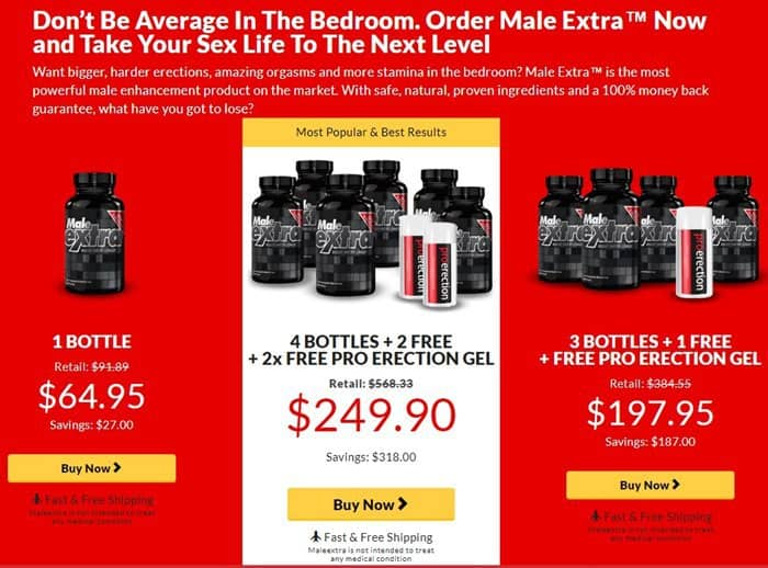 male extra - top offers
